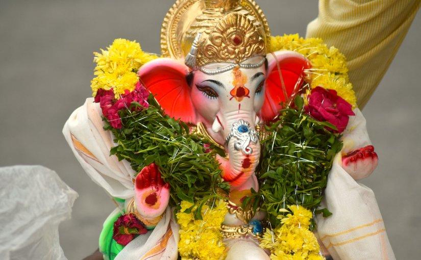 Ganesha hat Geburtstag